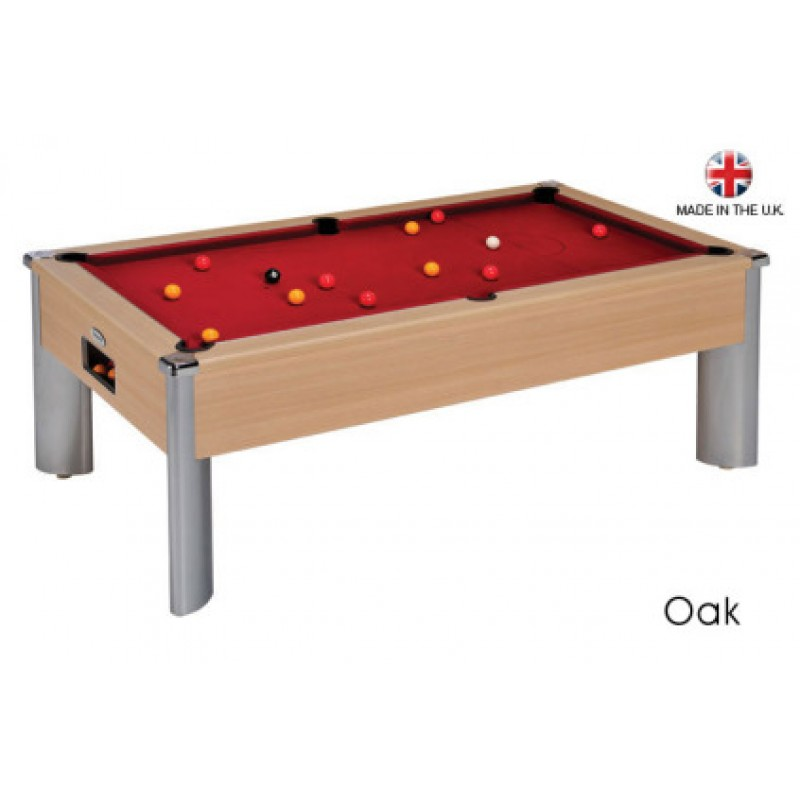 DPT Fusion Free Play Pool Table Oak