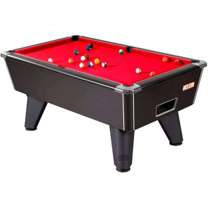 Supreme Winner Pool Table Black