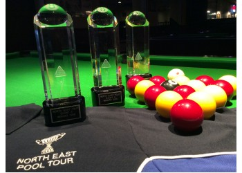 North  East Pool Tour Trophies